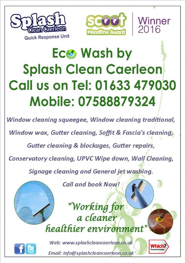 Eco Wash Services... Book Now Summer 2016