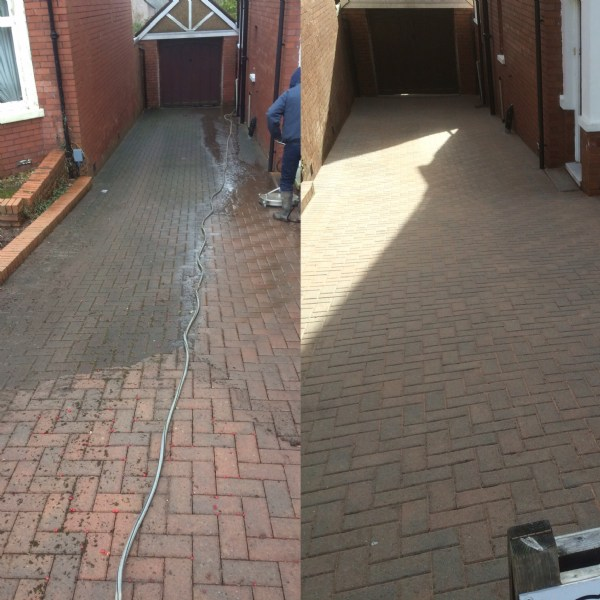 Driveway Cleaning & Sealing NEW Polymer self cleaning drive sealer? WOW