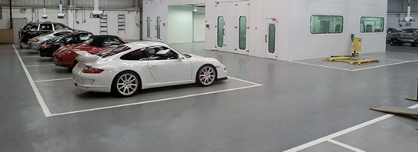 Epoxy resin garage floor offer for Winter 24/27m2 Single car Tufflor will never brakedown, flake or peel WOW! From �395